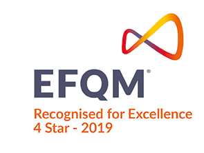 EFQM - Recognised for Excellence 4 Stars - 2019